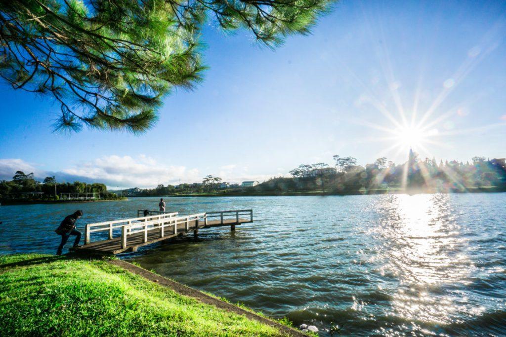 Hồ Xuân Hương nằm trong các điểm nên đến ở Đà Lạt.